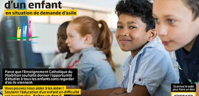 Parrainez la scolarité d'un enfant en situation de demande d'asile