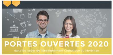 Portes ouvertes dans les lycées et l'université de l'Enseignement catholique du Morbihan