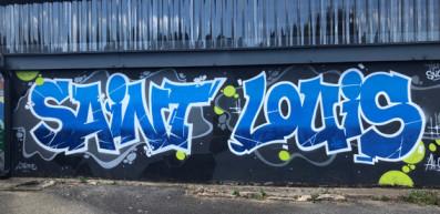 Vernissage street art au collège Saint-Louis de Saint-Jean-Brévelay