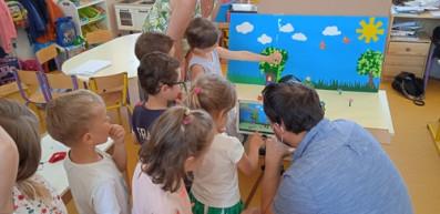 Festival du film d'animation à l'école St Gilles de Mériadec