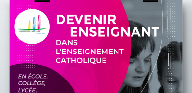27 septembre - Réunion d'information : devenir enseignant dans l'enseignement catholique